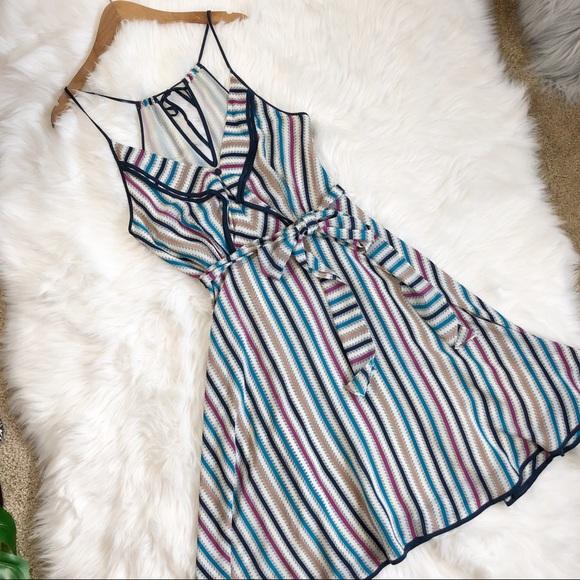 Anthropologie Dresses & Skirts - Girls from Savoy Silk dress❤️